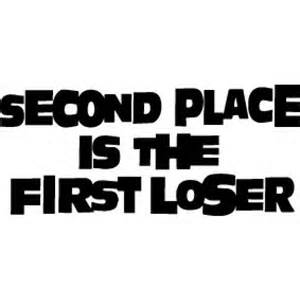 I am not the first loser.  I'm more like the 456th loser - and that ROCKS!