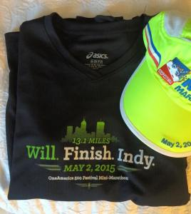 Indy Mini 2015 Shirt and Hat